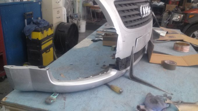 Rebuilding an Audi