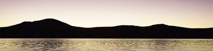 Beautiful Lake Memphremagog- An inspiring moment.