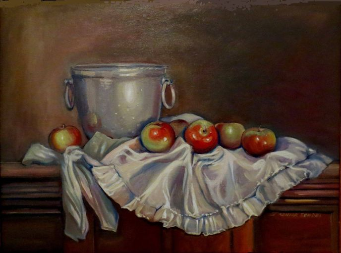 Apples on an Apron