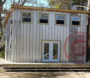 24x24 tilt roof cabin