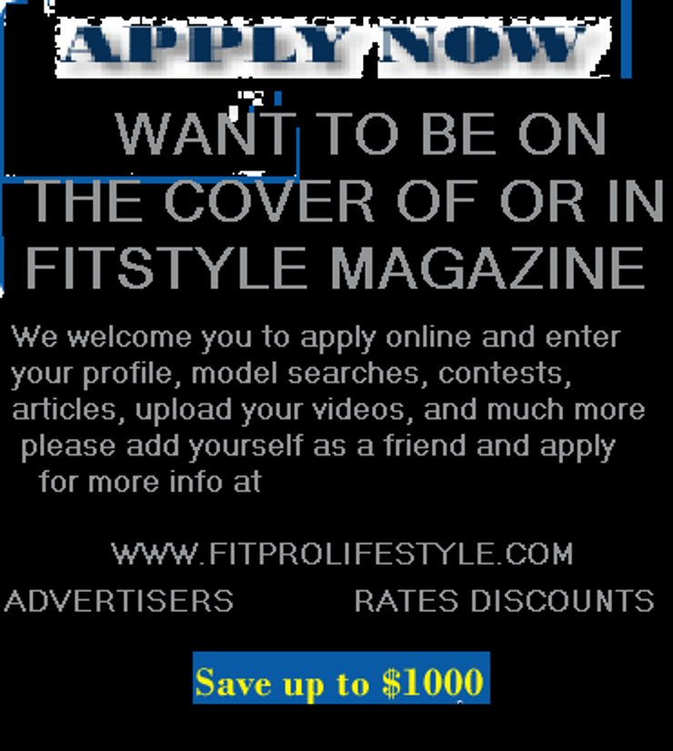 ARE YOU THE NEXT FITSTYLE MODEL?