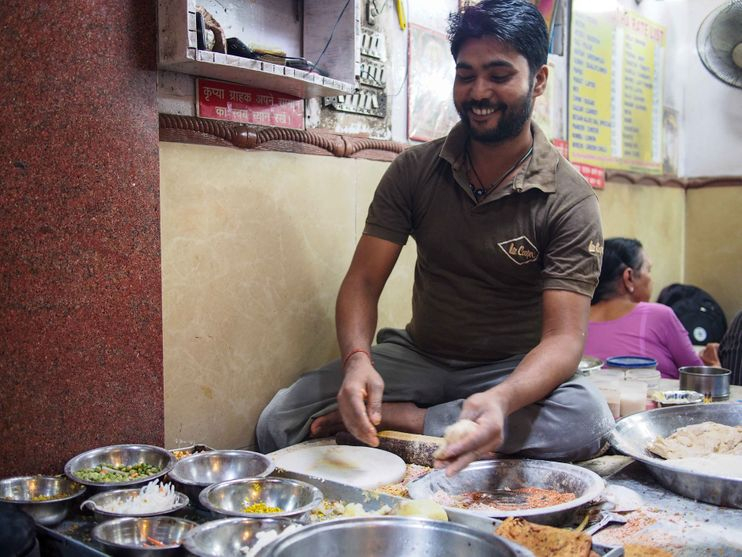 Old Delhi Food Walk.
