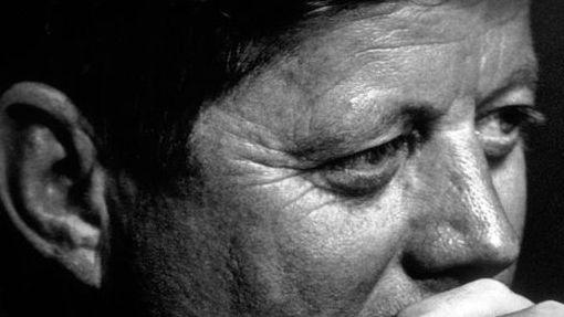 JFK in contemplative mood