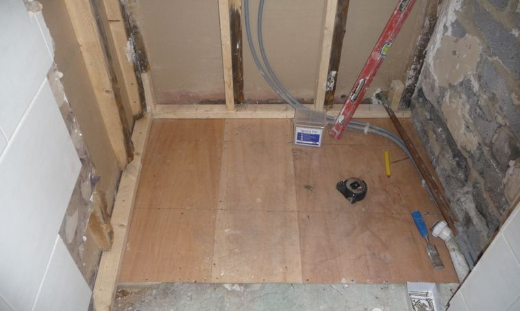18mm marine plywood floor