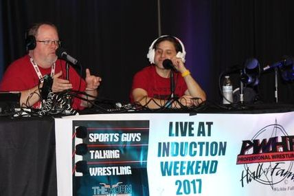 Sports Guys Talk Wrestling
