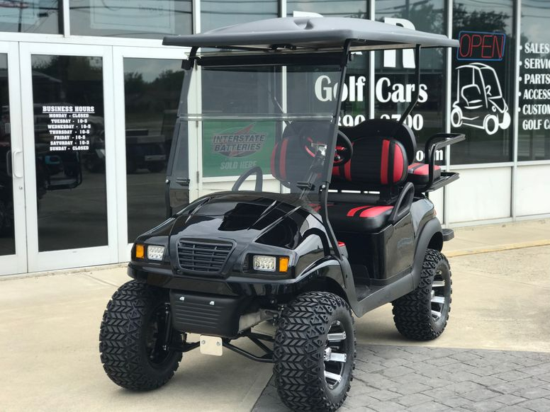 "2014 Club Car Precedent 48V - New Phantom Body - New Wheels and Tires - Street Legal Light Kit - Two Tone Seats - 6"" Lift"