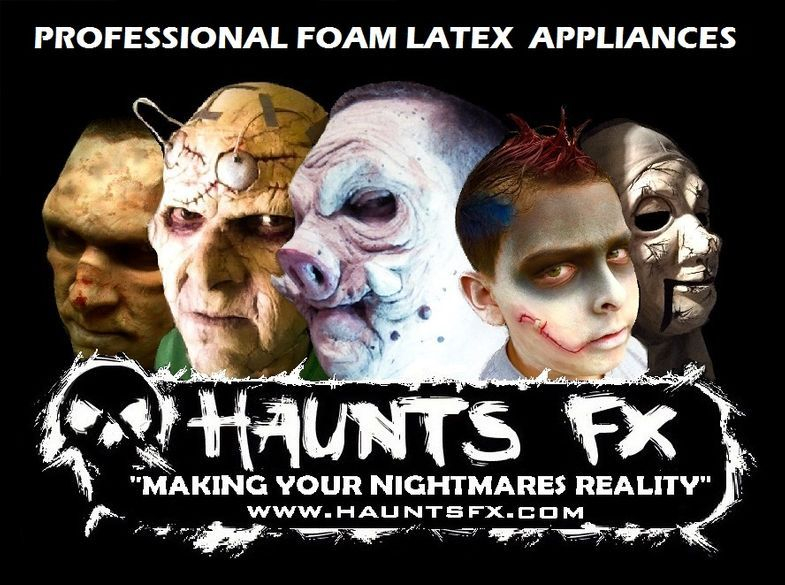 Haunts Fx Foam Latex Appliances