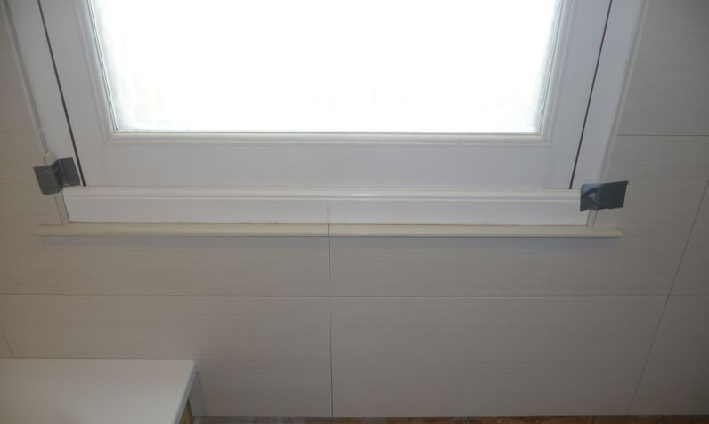 Bullnose window sill