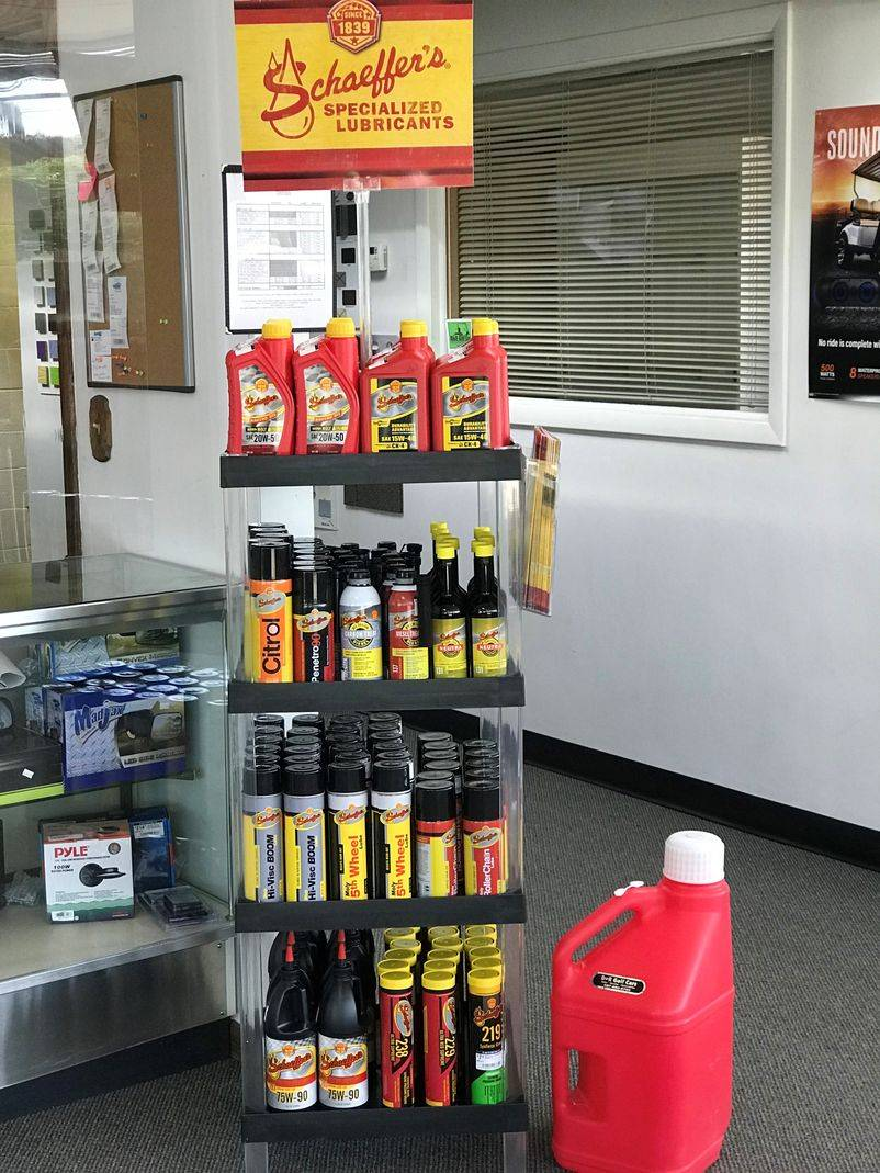 Schaeffer's Lubricants Now Available in Store!