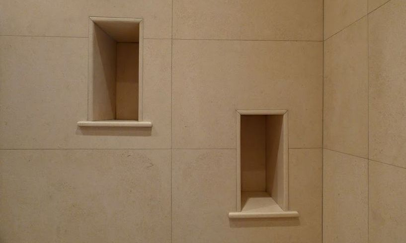 Limestone double niches