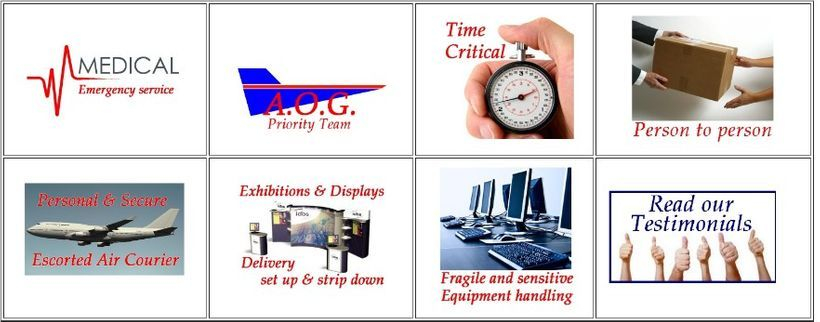 we provide a wide range of services ay very short notice