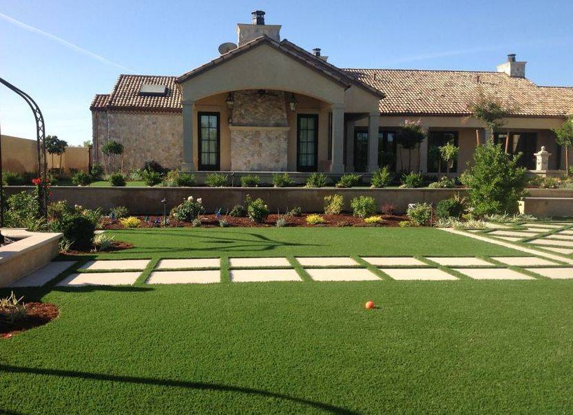 Award winning artificial grass installation