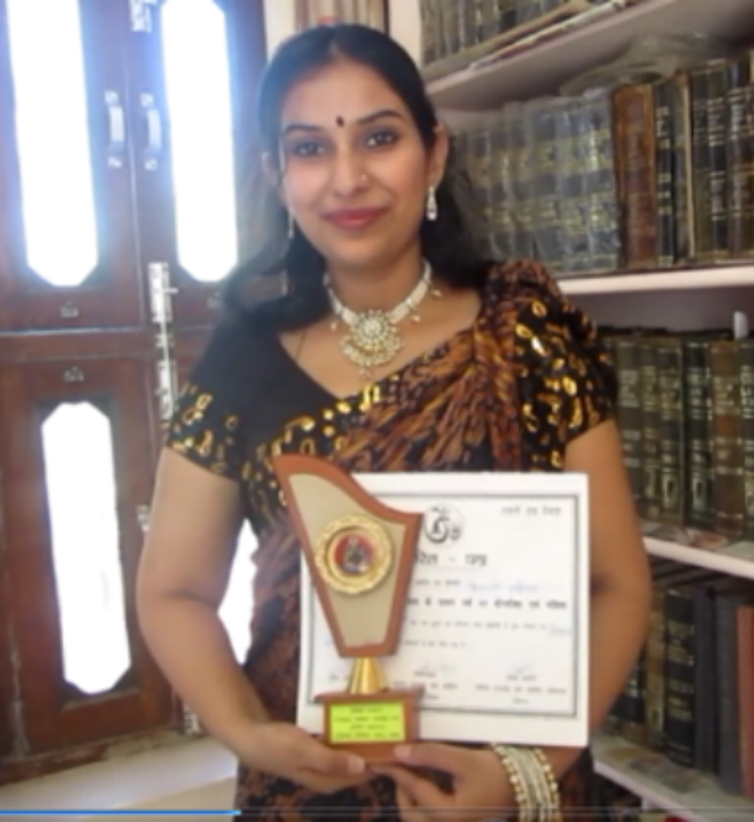 Patanjali Award for Contribution in writing...