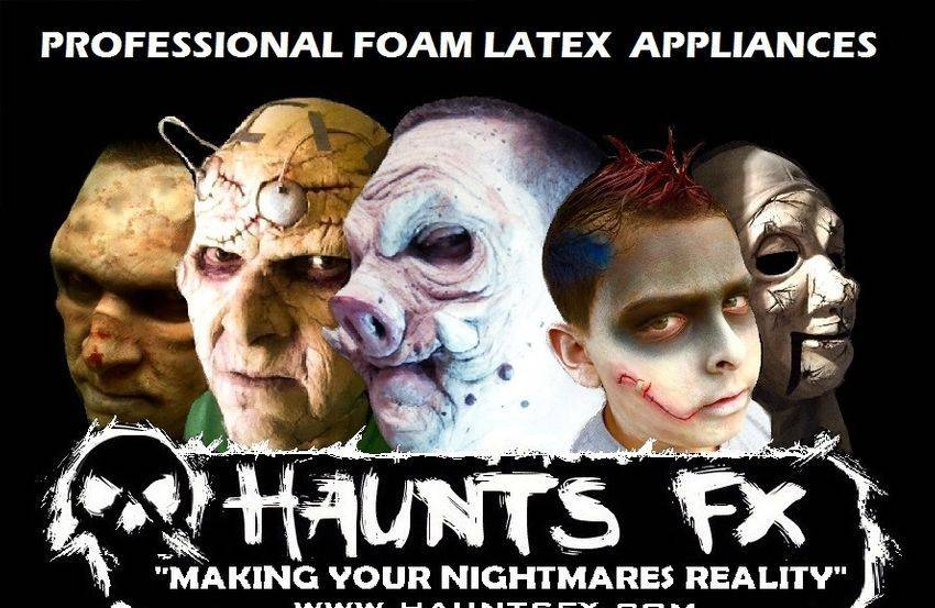 Halloween Foam Latex Appliances