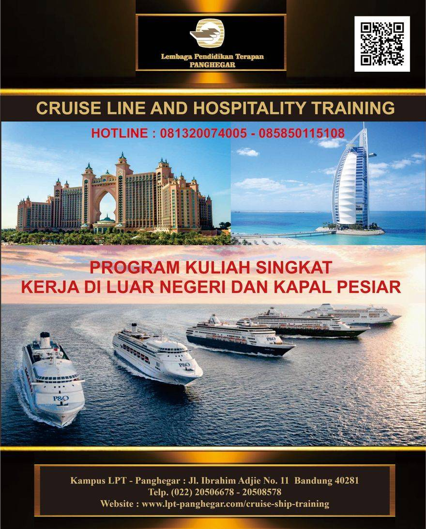 Brosur Cruise Ship Training LPT Panghegar 2020