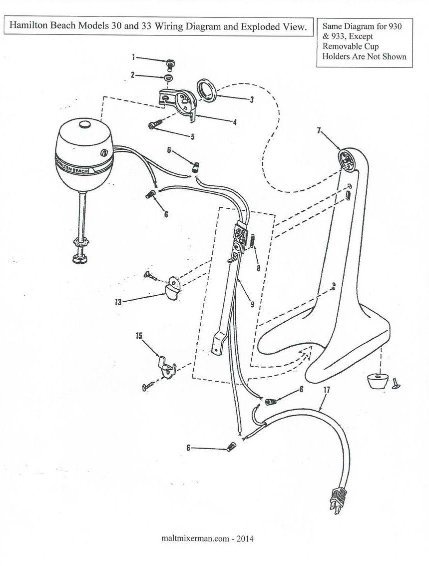 Hamilton Beach malt machine wiring diagram (2).