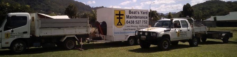 Beat's Yard Maintenance's Work horses