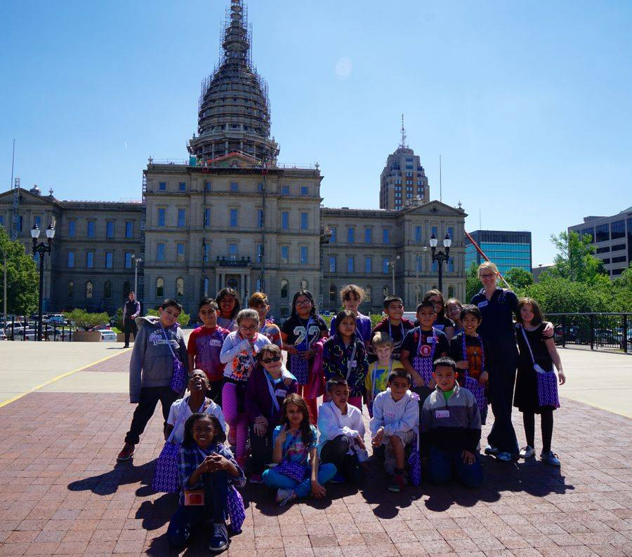 Field Trip to Lansing Capitol Building