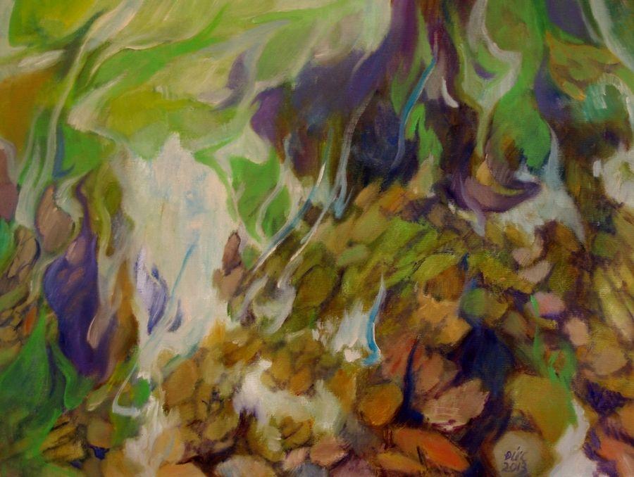 Bunclody - Oil on Canvas - 60 x 80cm