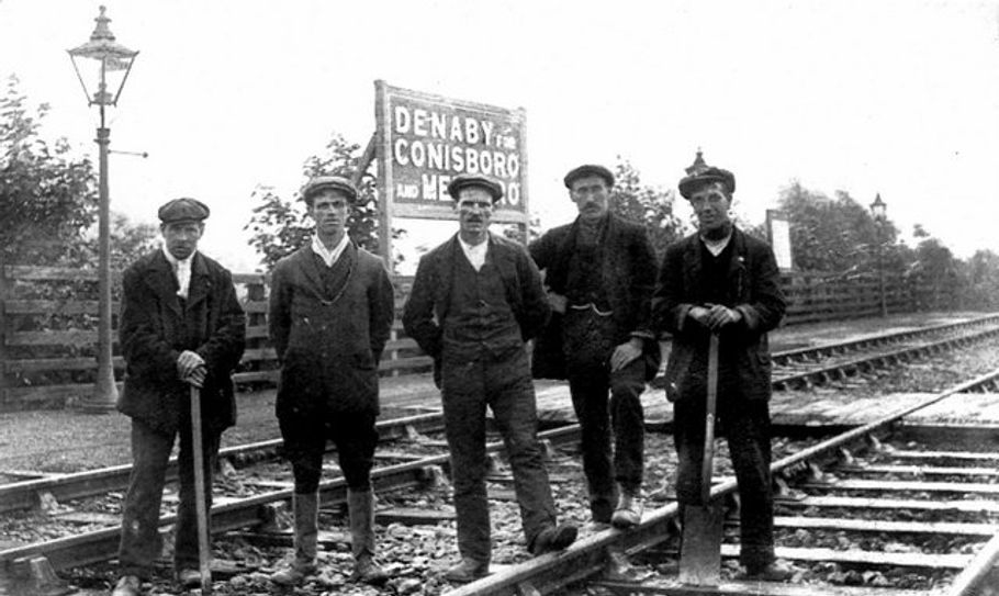 Low Field Drop Station Railway Workers Denaby.
