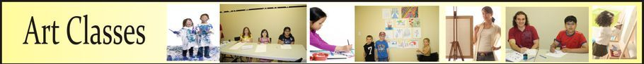 Art classes, painting, drawing, preschool art, Mississauga, Oakville
