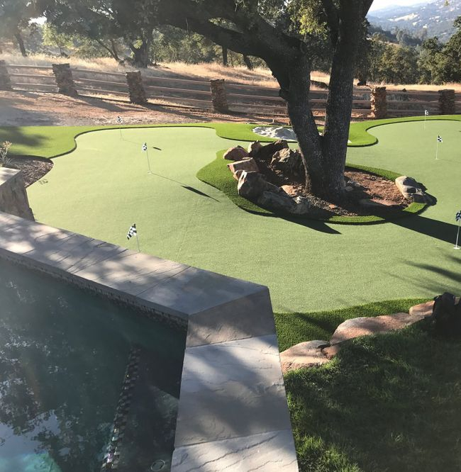 Catta Verdera putting green