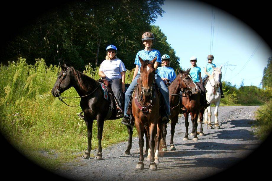 horseback riding lehigh valley trail rides