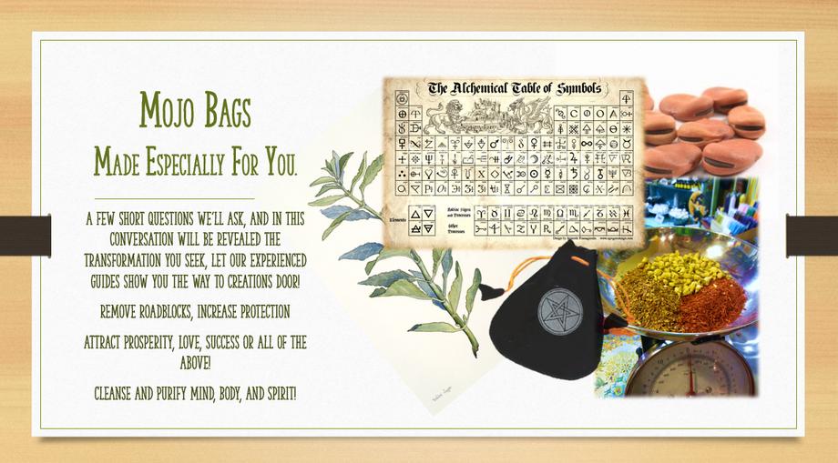 Mojo Bags Herbs Magic