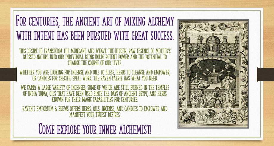 Alchemy Herbs Herb Herbal
