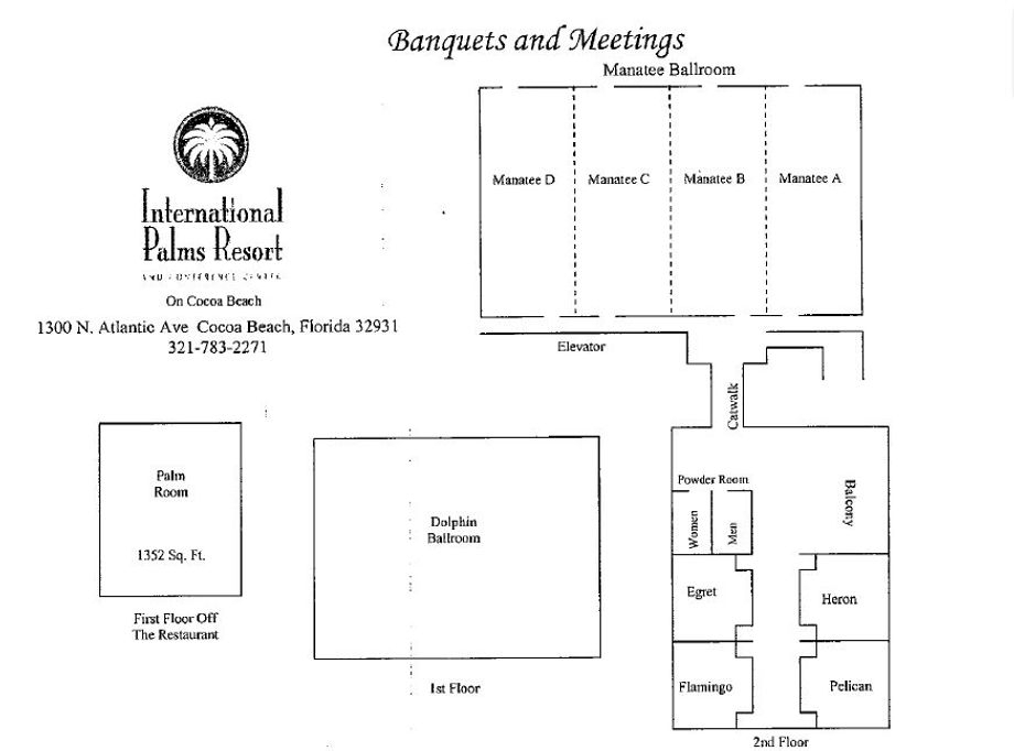 Convention Hall Layout