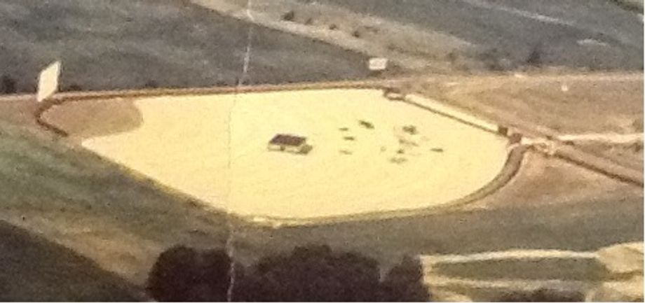 Aerial view of our Drive In