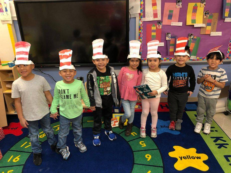 Celebrating Dr. Seuss Week @ The Little Brooklyn Pre-K Center @ 219-25th Street