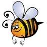 the logo for Bee Calm Reiki