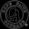 Negative Logo of Cocaine Anonymous